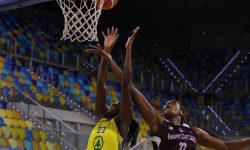 El Gran Canaria Arena se tiñe de lila (67-73)