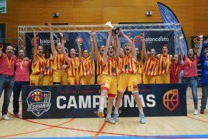 8 lilas se proclaman campeonas de España con Cataluña. ¡Enhorabuena!