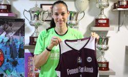 Núria Martínez refuerzo de lujo para el primer equipo